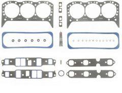 4.3L 262ci 12 Bolt Intake Marine Cylinder Head Set