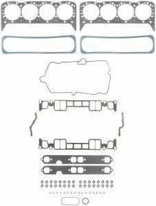 5.7L 350ci Vortec 96+ Marine Cylinder Head Set