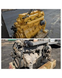 John Deere 6081 Tier 3 New Engine before and after